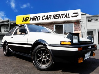 TOYOTA<br>SPRINTER TRUENO AE86(AT)前期仕様