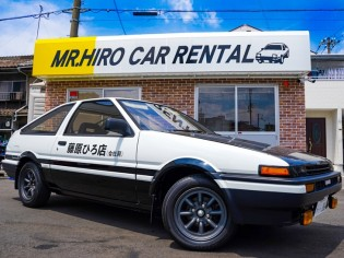 TOYOTA<br>SPRINTER TRUENO AE86(AT)後期仕様